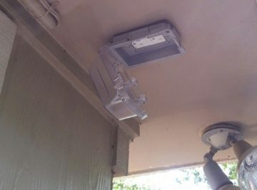 Houston outdoor power outlet