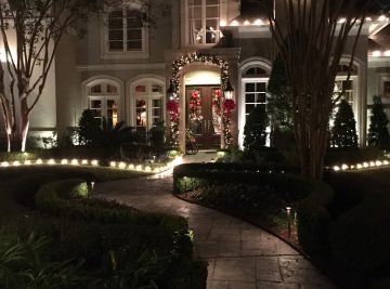Christmas light installation pearland