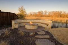 Outdoor-Fire-pite-with-seating-area.-In-The-Woodlands-TexasJM-Outdoor-Living