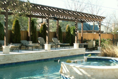 Pool-Side-shade-arbor-in-The-Woodlands-Texas.-JM-Outdoor-Living