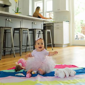 The soft filling makes any area a comfortable play-space or nap area. Plus, all Stoweyjoeys are made with CPSIA compliant materials and are lead and phthalate free. The slip-resistant material also protects children from slips and falls, even when they get rowdy.