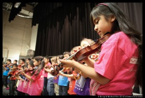El Sistema Colorado's young musicians are excited to perform at Red Rocks.