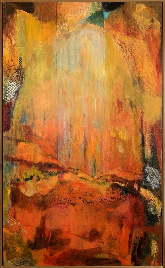 yellow abstract art, Michael Colpitts paintings, Large Painting Mixed Media on Canvas Wall Art Abstract Simplistic, Mixed Media on Canvas, colorful abstract paintings, large abstract paintings for sale, bold paintings, modern paintings on canvas