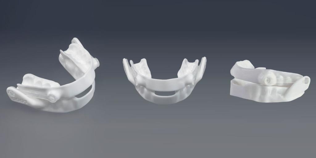 Dental respiratory med teeth mold