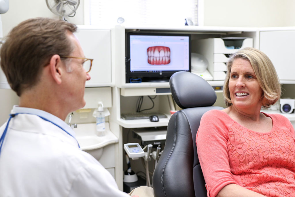 Patient Enhance Their Oral Health and Smile Starting with Consultation