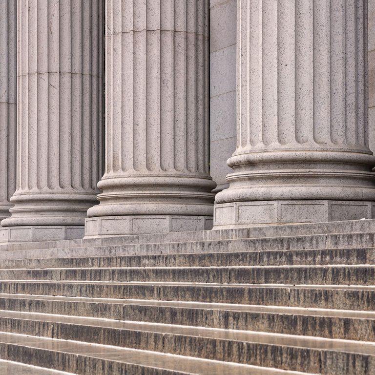 Courthouse Columns   Vitek Lange