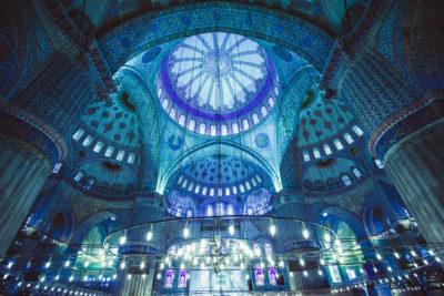 WESTERN TURKEY BLUE MOSQUE