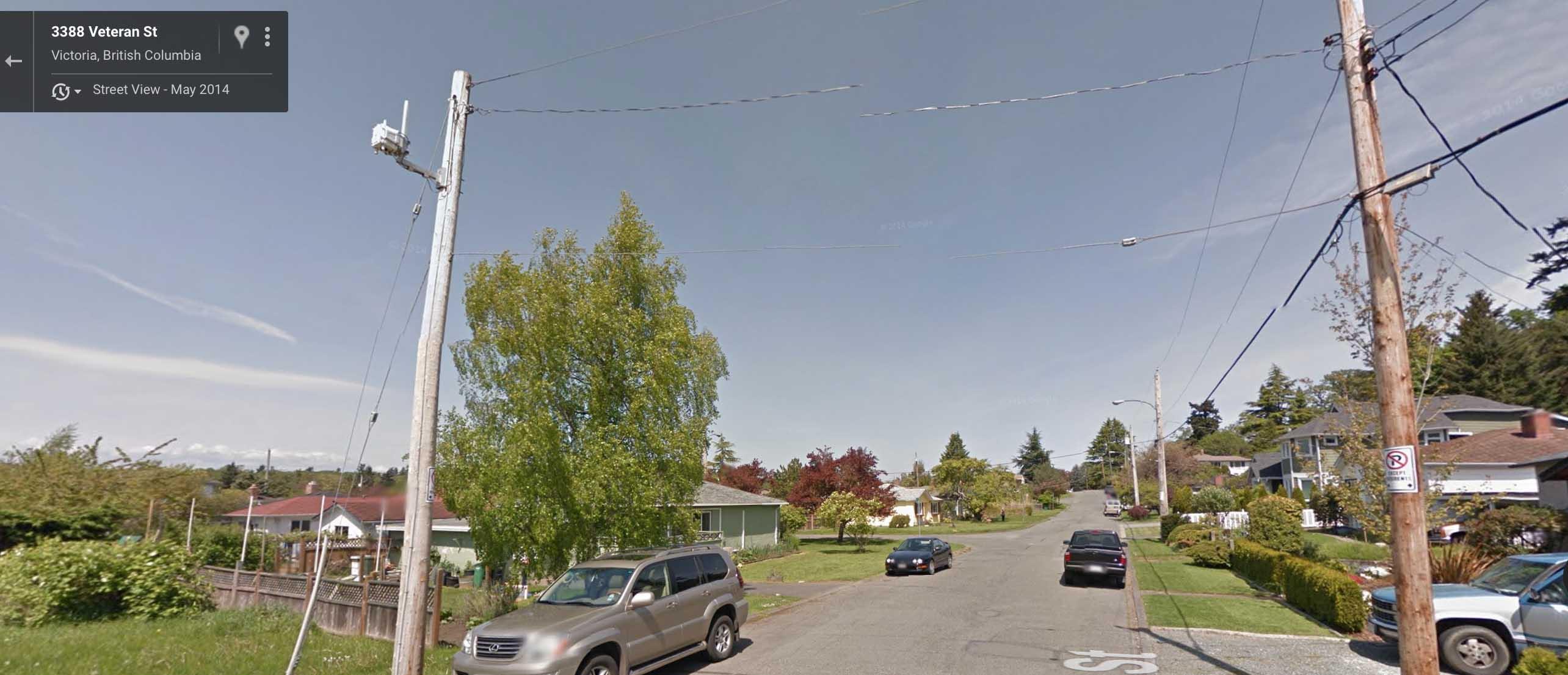 Veteran Street - Victoria - BC Hydro Cisco Routers