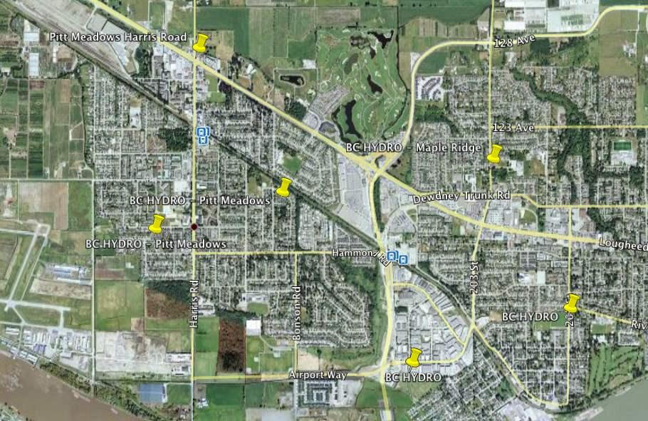 Pitt Meadows BC - BC Hydro Collector Router (Cisco Mesh Network)