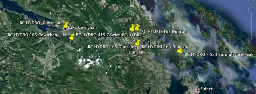 Cowichan BC - BC Hydro Collector Router (Cisco Mesh Network)
