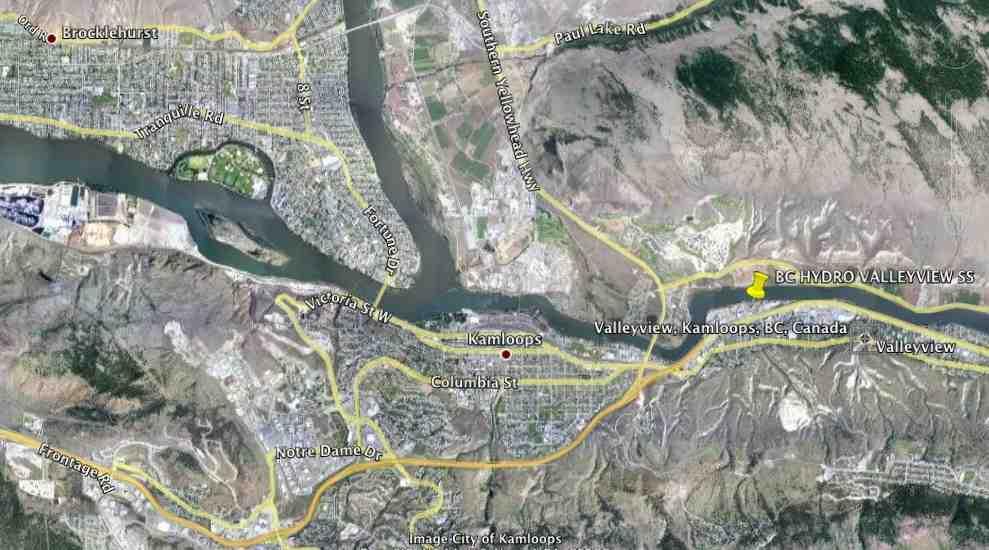 Kamloops BC - BC Hydro Collectors ( Cisco Itron Mesh Network )