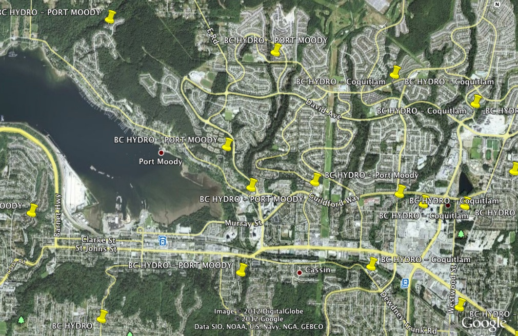 Port Moody BC - BC Hydro Collector Router (Cisco Mesh Network)
