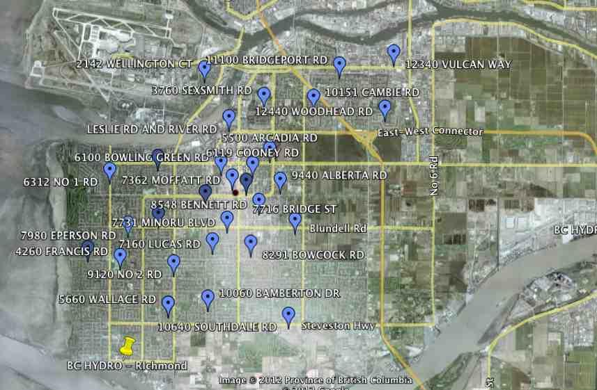 Richmond BC - BC Hydro Cisco Routers