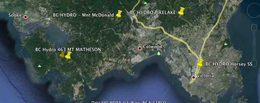 Victoria BC - BC Hydro Collector Router (Cisco Mesh Network)