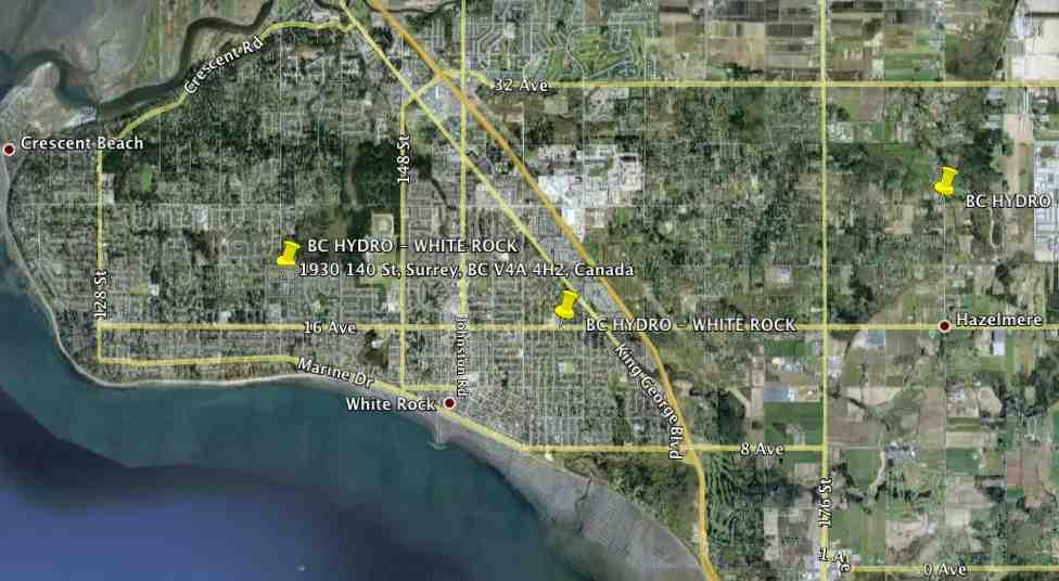 White Rock BC - BC Hydro Collector Router (Cisco Mesh Network)