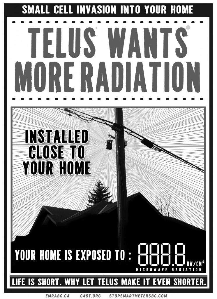 enodeB Telus Poster 3 B&W