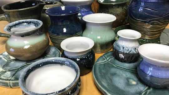 Ceramic pottery by Mary Case