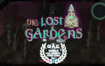 Rabbit Hole Studios' The Lost Gardens, winner of Fan Favorite Digital Game.