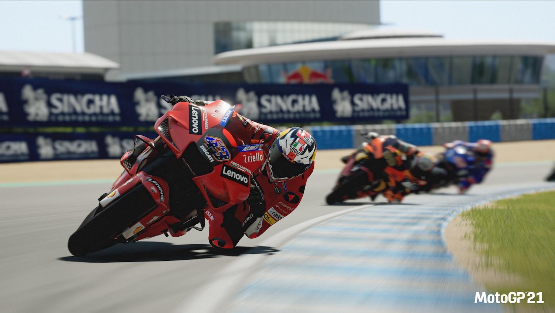 Milestone's MotoGP 2021 on PC