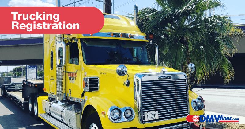trucking registration commercial registration commercial tags trucking tags