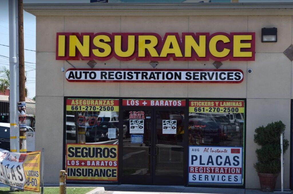 Bakersfield DMV Registration Services Insurance in Bakersfield