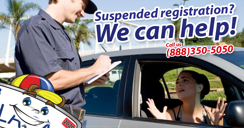 how to clear a suspended registration