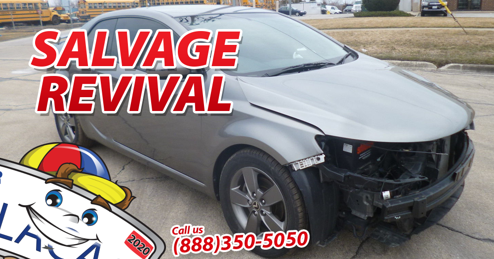 how to get a salvage title cleared