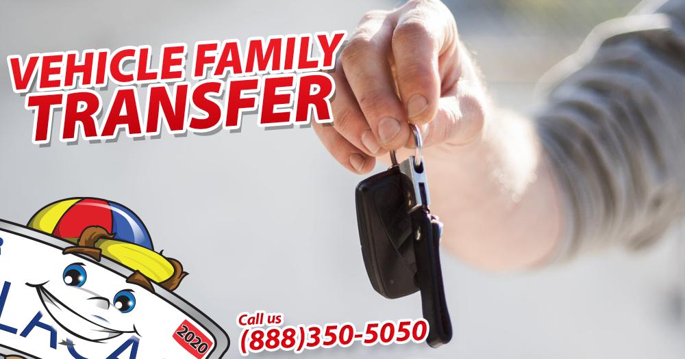 Transfer Title To Family Member
