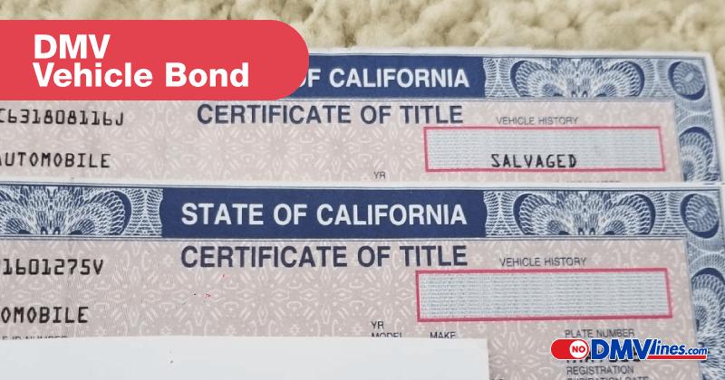 vehicle title bond dmv title bond