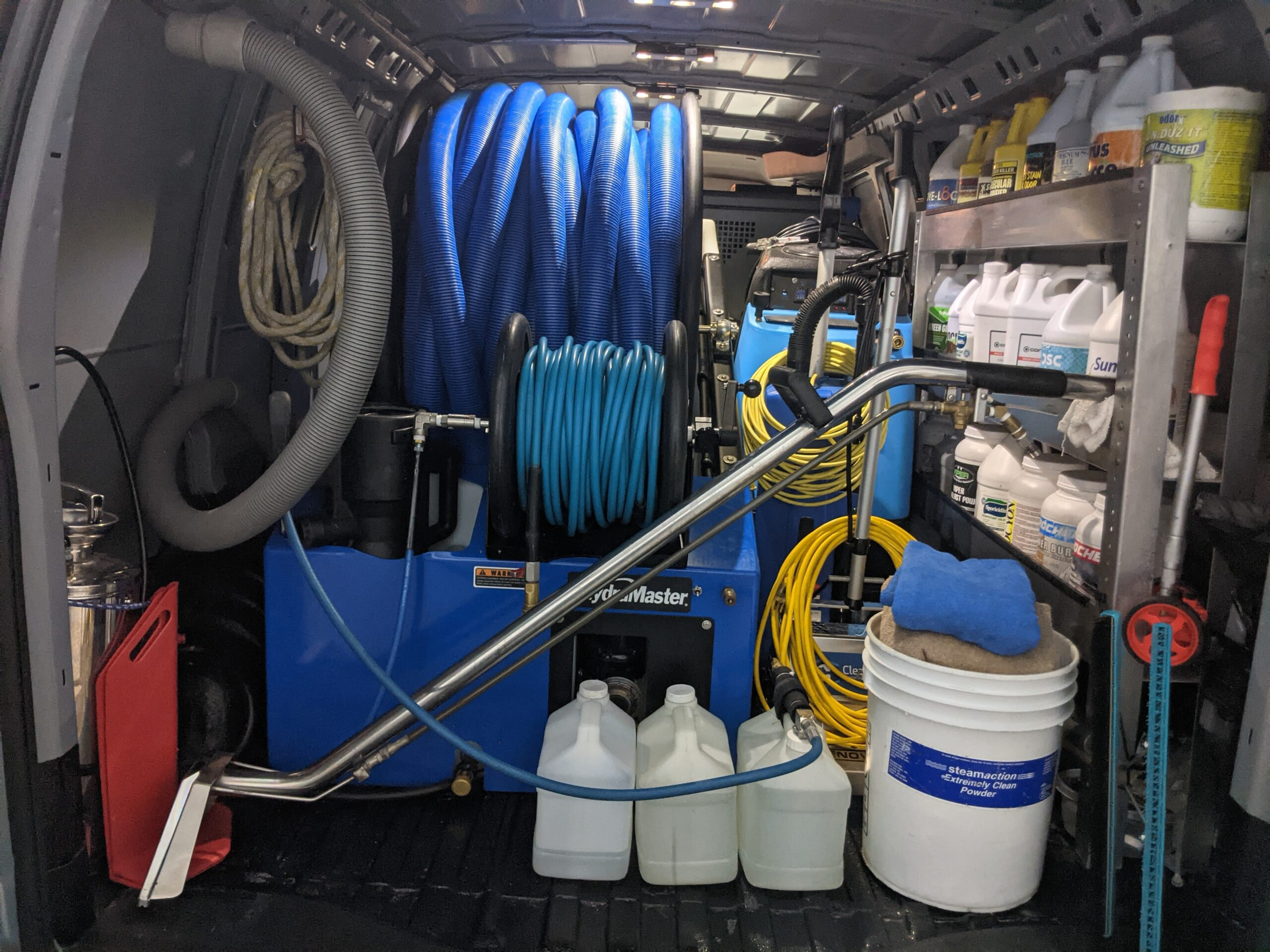 Carpet Cleaning Services Balsam Lake WI Equipment