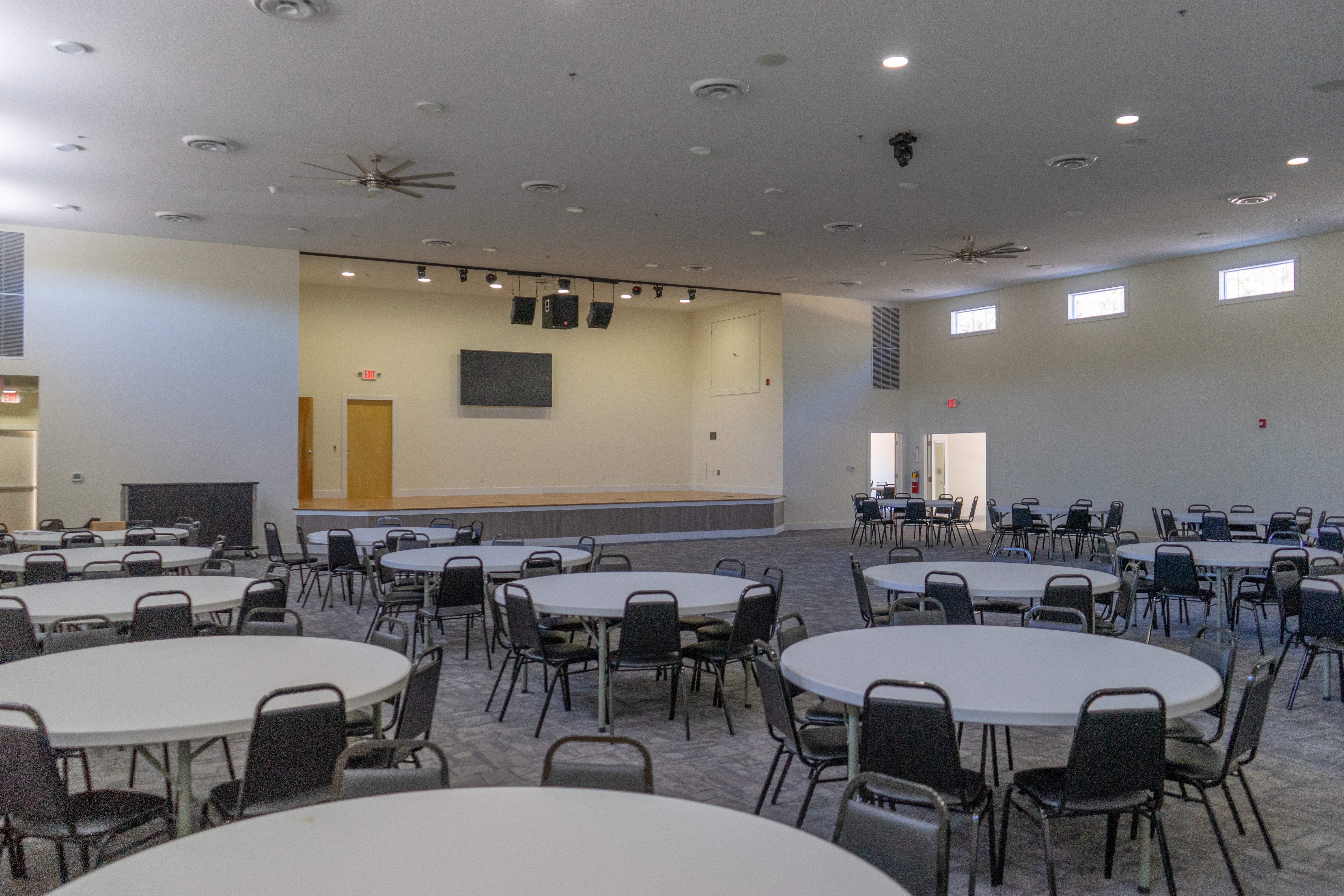 Plenty of room for seating in our main ballroom!