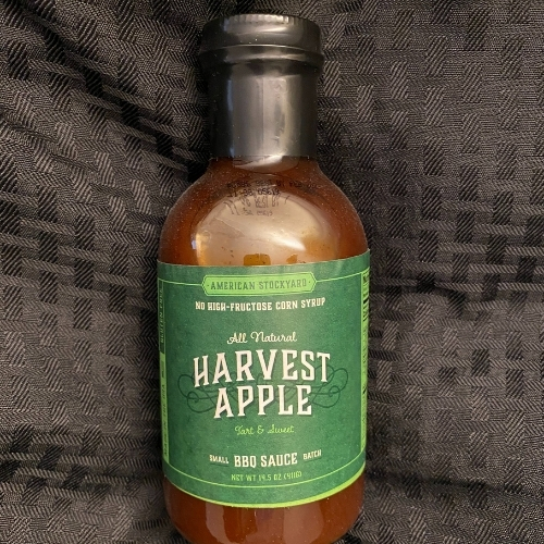 American Stockyard Apple BBQ Sauce