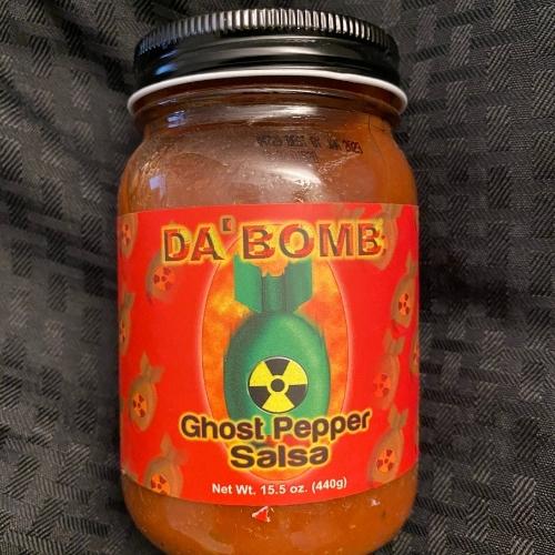 Da' Bomb Ghost Pepper Salsa