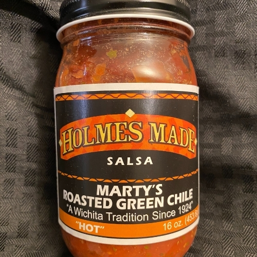 Holmes Made Marty's Roasted Green Chile Salsa