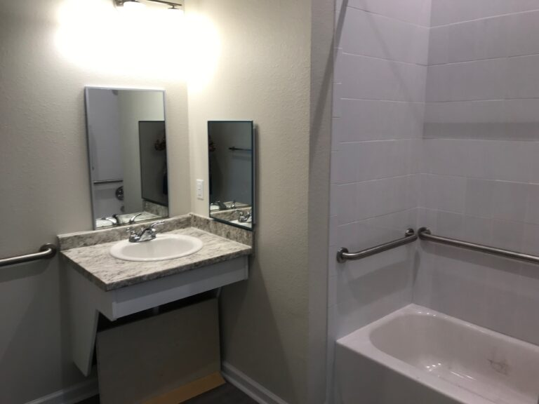End Unit Bathroom
