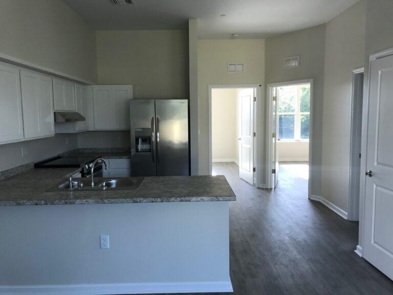 End Unit Kitchen & Bedrooms