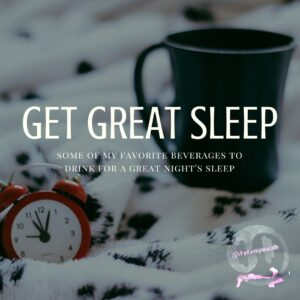 favorite beverages for a great night's sleep