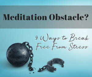 meditation obstacle