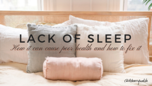 How lack of sleep can cause poor health and how to fix it