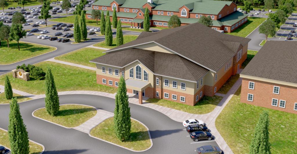 3D Church Campus Animation