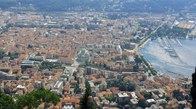 The View Overtop Como…