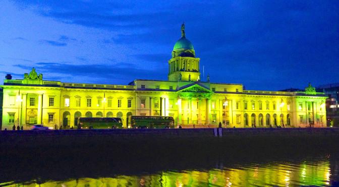 Kiss me, I'm Irish in Dublin!