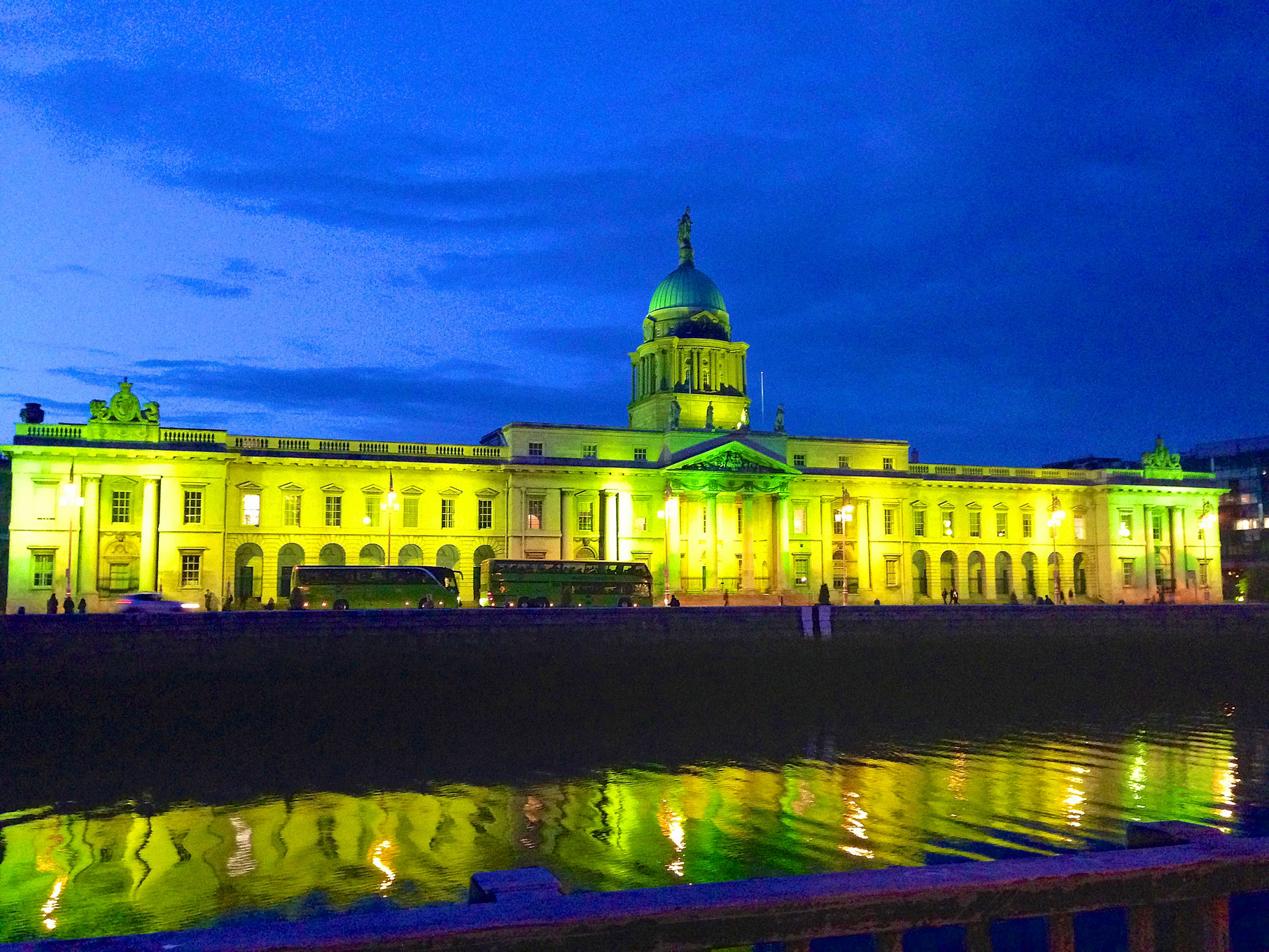 """Ireland """"Greens"""" the City During St. Patrick's Day"""