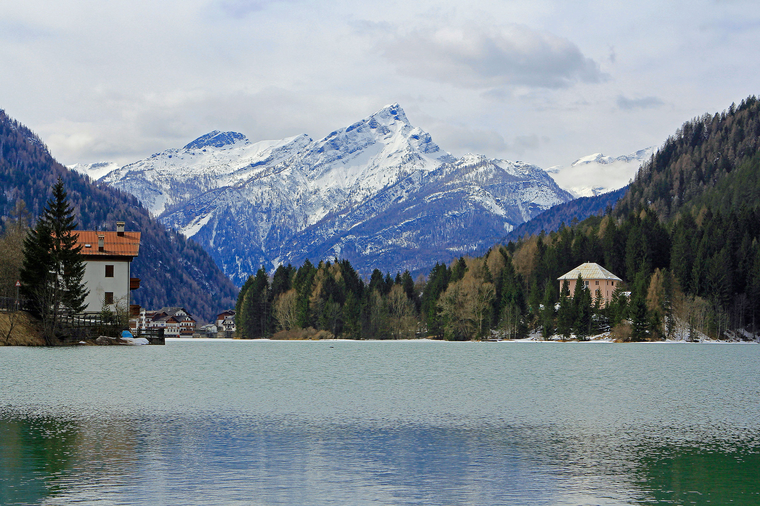 Beautiful Lake in Alleghe