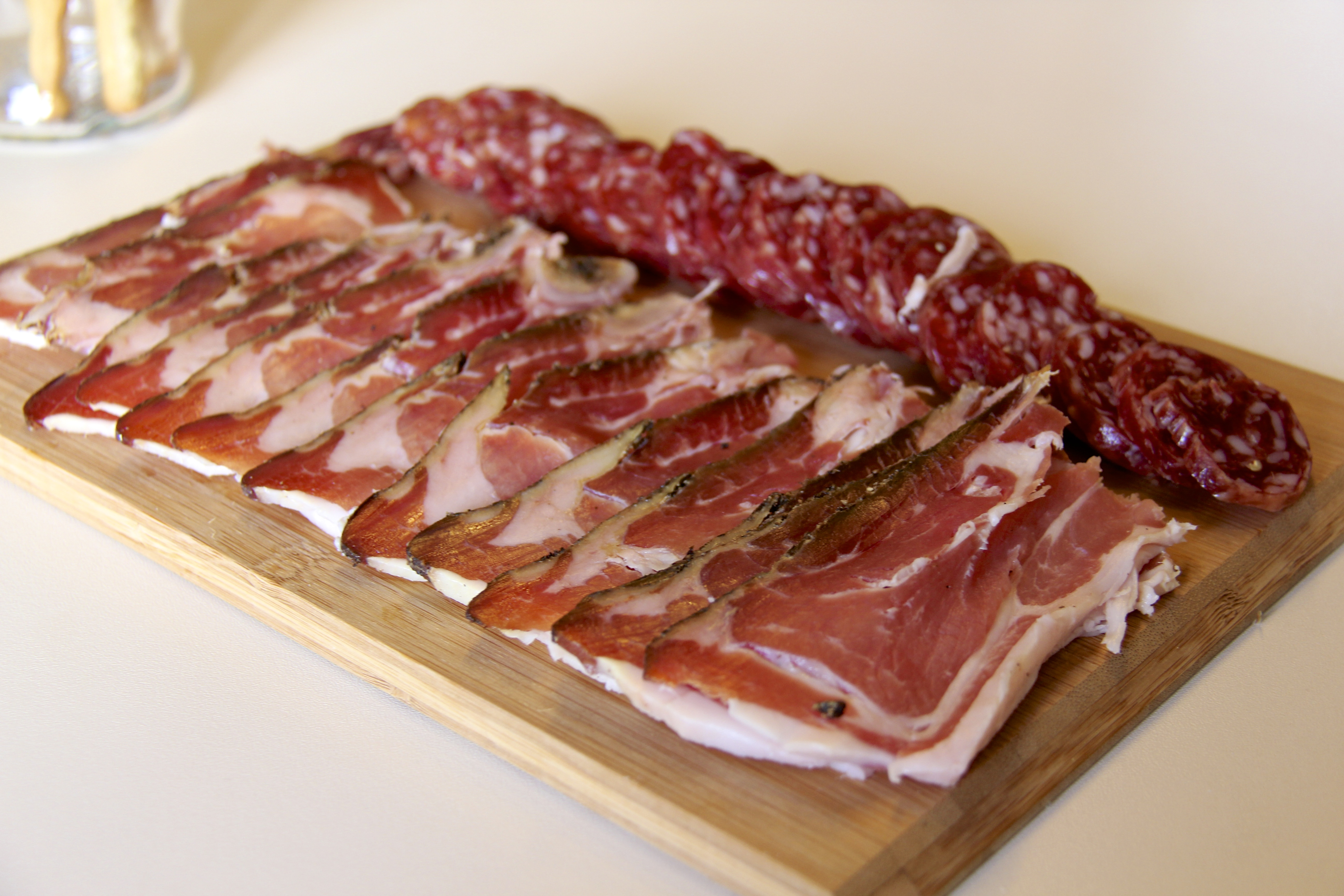A Plate of Salami and Speck