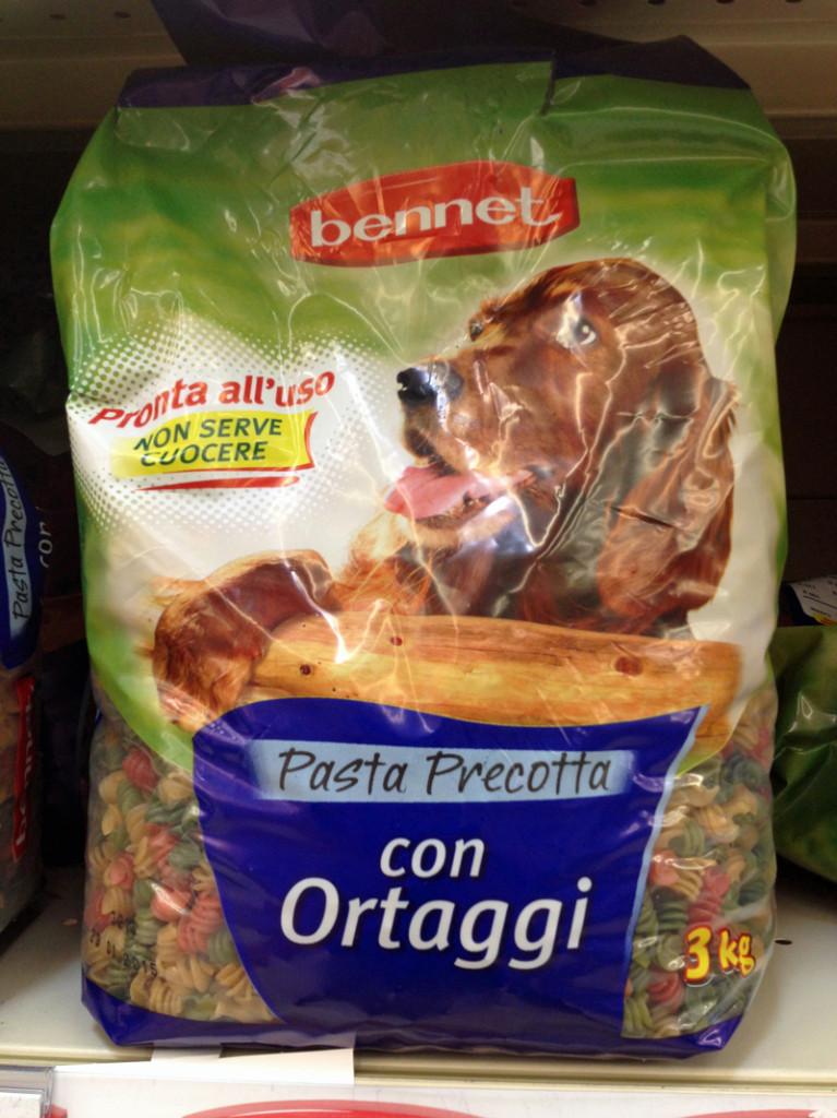 Or perhaps her prefers pasta pre cotta with ortaggi