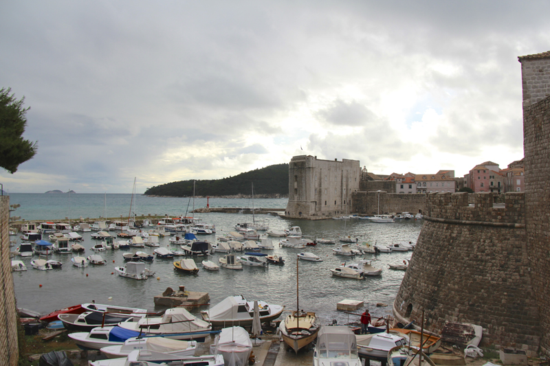 Dubrovnik is an important port city with strong ties to the sea