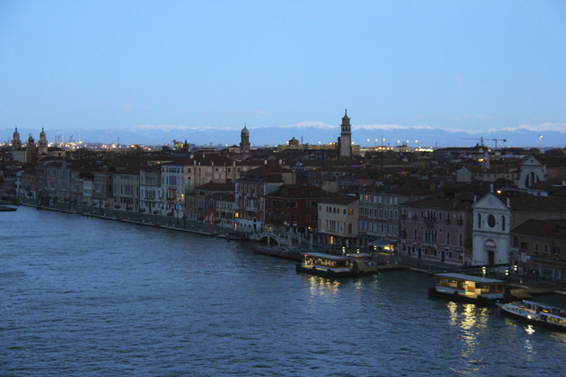 The early morning light cast over the city of Venice is a stunning sight