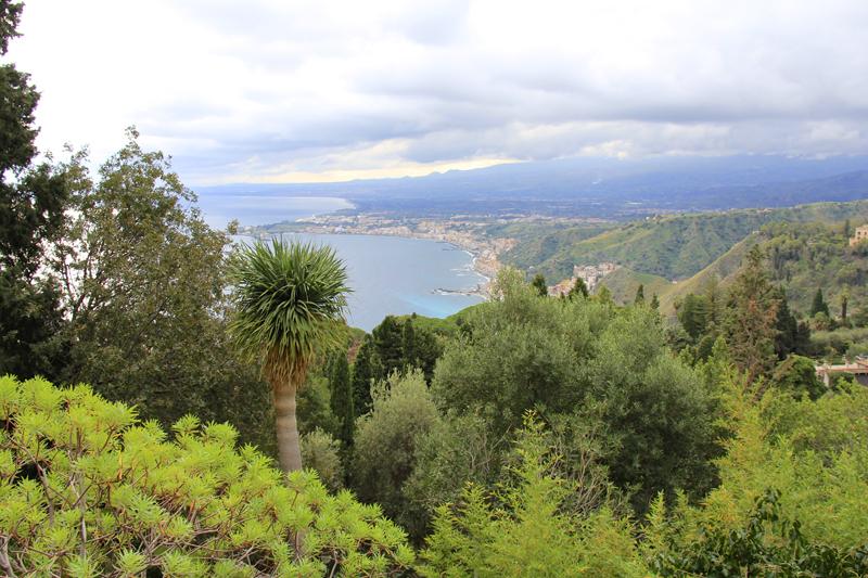 Taormina has beautiful coastline and wonderful beaches