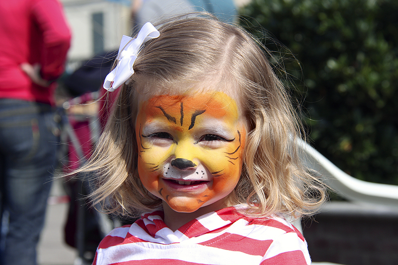 Of course, Julia wanted to be a Tiger